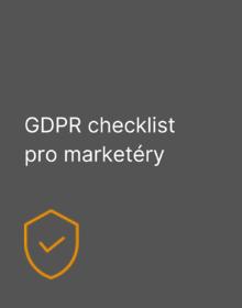 GDPR checklist pro marketéry